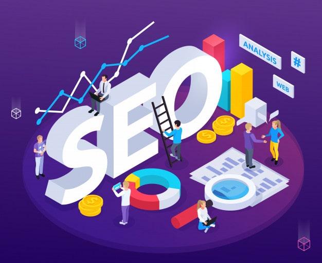 سئو ( SEO ) و بهینه سازی سایت و رتبه بالا در گوگل