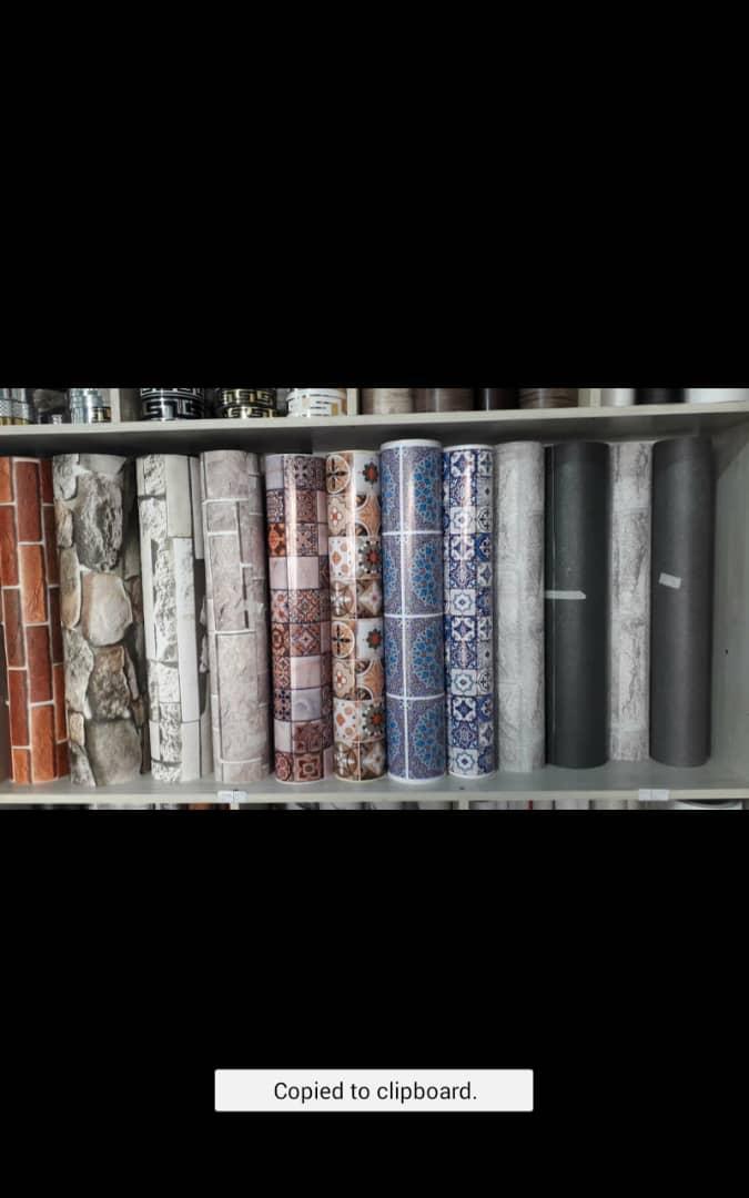 فروش و نصب انواع برچسب و استیکر کابینت شیشه دیوار کمد