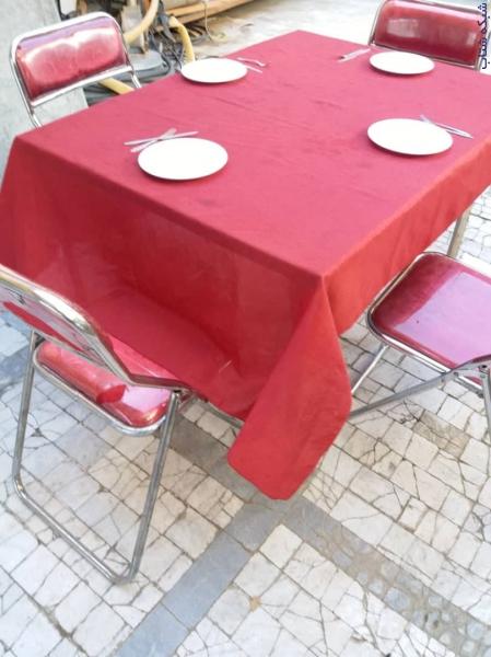 کرایه انواع میز و صندلی ظروف چینی . ملامین . آرکوپال مادر