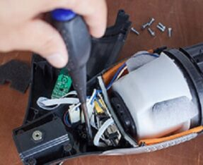 تعمیرات انواع جارو شارژی با ارسال رایگان