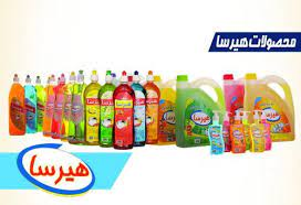 فروش ویژه انواع محصولات شوینده و بهداشتی هیرسا