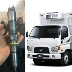 تعمیر سوزن انژکتور کامیونت هیوندای hd65
